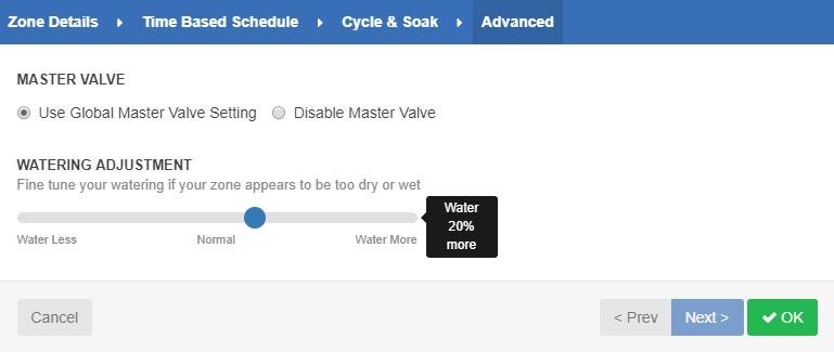 Master Valve - Configuration – Hydrawise